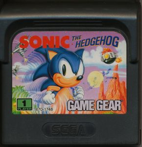 Das Modul für den Game Gear